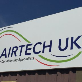 Airetch UK Air Conditioning Signange Bassetts Pole, Birmingham