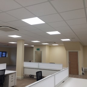 Inside Office Air Conditioning units installed by Airtech UK Ltd Birmingham