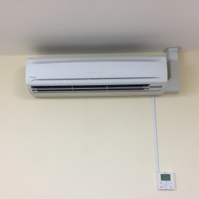 Inside Air Conditioning units installed by Airtech UK Ltd Birmingham
